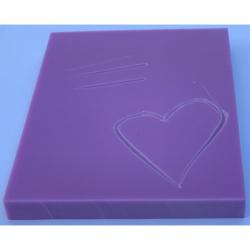Obrázek Guma pro linoryt 10 x 7,5 x 0,9 cm Profi