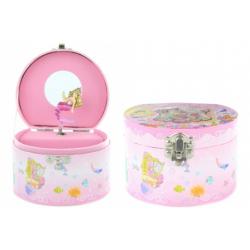 Obrázek Hrací skříňka šperkovnice s mořskou pannou