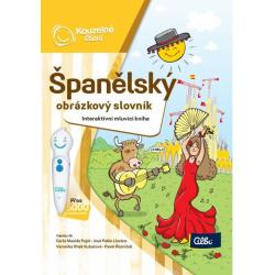 Obrázek Kouzelné Čtení - Kniha Španělský obr. slovník