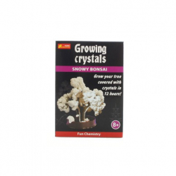 Obrázek Rostoucí krystaly bílá bonsaj