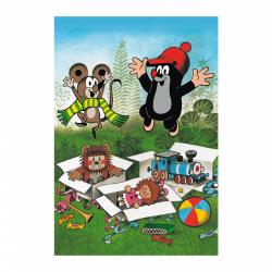 Obrázek Puzzle Krtek se Raduje 2x48 dílků 18x26cm