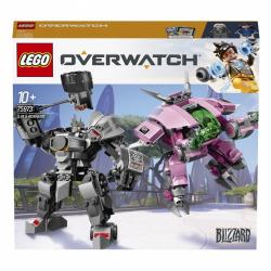 Obrázek LEGO<sup><small>®</small></sup> Overwatch 75973 -  D.Va a Reinhardt