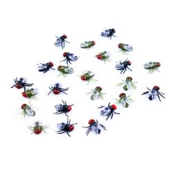 Obrázek dekorace halloween mouchy v sáčku