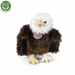 Obrázek Plyšový pták orel stojící 24 cm ECO-FRIENDLY