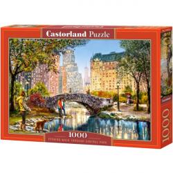 Obrázek Puzzle Castorland 1000 dílků - Večerní procházka v Centrál Parku
