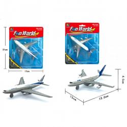 Obrázek Letadlo civilní kovový model