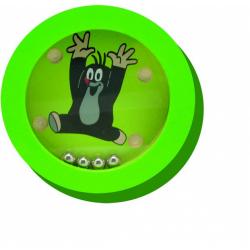 Obrázek Krtka, gólov sa! hra hlavolam drevo 7,5cm - 4 druhy