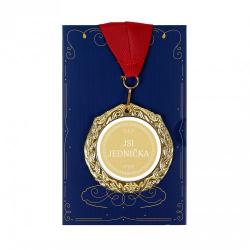 Obrázek Přání s medailí - Jsi jednička