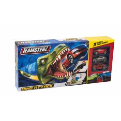 Obrázek Teamsterz dráha dinosaurus + 3 autíček