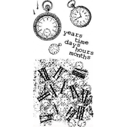 Obrázek Razítka gelová - Years time, days, hours, months