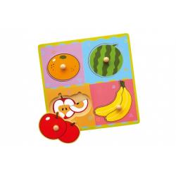 Obrázek Dřevěná vkládačka - ovoce