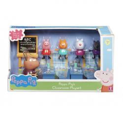Obrázek Hrací set školní třída + 5 figurek Prasátko Pepa