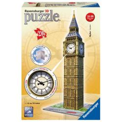Obrázek Puzzle 3D Big Ben s hodinami 216 dielikov