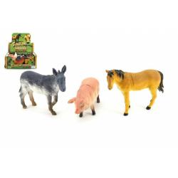 Obrázek Zvieratká farma plast 12cm - 1ks