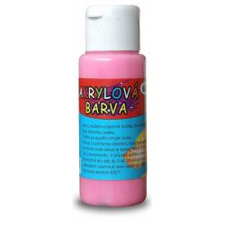 Obrázek Akrylová barva 60ml - růžová (pink)