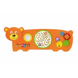 Obrázek Dřevěná nástěnná hra - medvěd