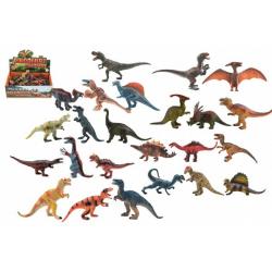 Obrázek Dinosaurus plast 11-14cm mix druhů 24ks v boxu