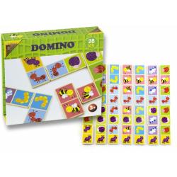 Obrázek Domino dřevěné broučci 28 ks