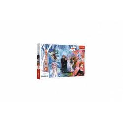 Obrázek Puzzle Ledové království II/Frozen II 160 dílků 41x27,5cm v krabici 29x19x4cm