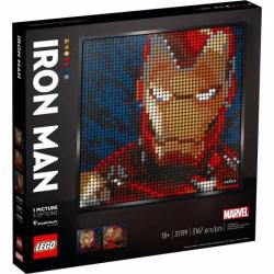 Obrázek LEGO<sup><small>®</small></sup> Art 31199 - Iron Man od Marvelu