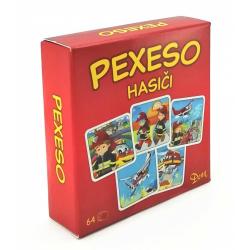 Obrázek Pexeso Hasiči v krabičce