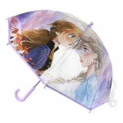 Obrázek Dětský manuální deštník Ledové království průsvitný