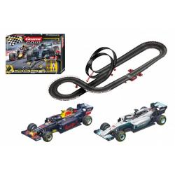 Obrázek Autodráha Carrera GO!!! 62524 Racing Heroes 5,3m + 2 formule v krabici 58x40x10cm