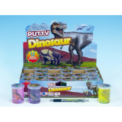 Obrázek Sliz - hmota dinosaurus 6cm - 6 barev