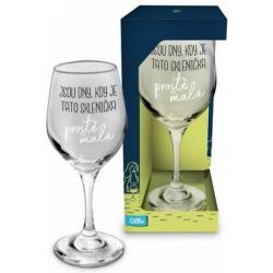 Obrázek Sklenice na víno - Malá