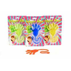 Obrázek Sliz ruka - 4 barvy  14x22cm
