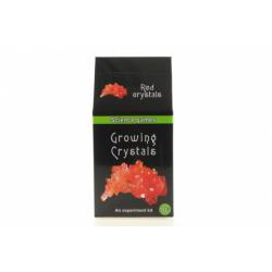 Obrázek Mini chemická sada - rostoucí krystaly - červené