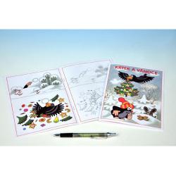 Obrázek Omalovánky - Krtek a Vánoce 15x21cm