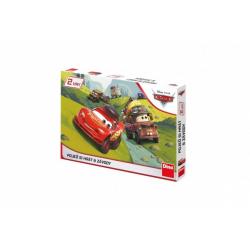 Obrázek Pojď si hrát/Závody 2 společenské hry Cars/Auta v krabici 33x23x3cm