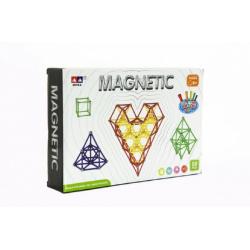 Obrázek Magnetická stavebnice 99ks v krabici 28x19x5cm