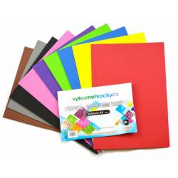 Obrázek Pěnovka barevná - 10 ks, mix barev, A4 - cca 2 mm