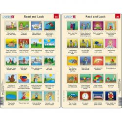 Obrázek Puzzle Angličtina - delší věty RA13 20 dílků