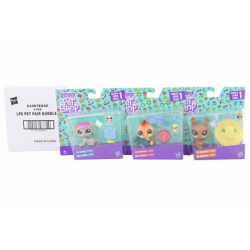 Obrázek Littlest Pet Shop Maminka s miminkem a doplňky - cena za 3 kusy