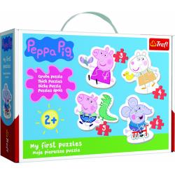 Obrázek Baby puzzle - Roztomilé prasátko Peppa / Prasátko Peppa