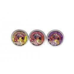 Obrázek Hmota / plastelína 50g inteligentný metalická 8cm - mix farieb v plechovej krabičke