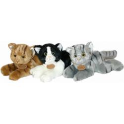 Obrázek Plyšová kočka 23 cm