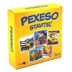 Obrázek Pexeso Stavitel v krabičce