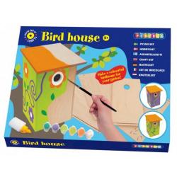Obrázek Ptačí budka včetně barev