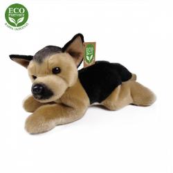 Obrázek Plyšový pes německý ovčák ležící 30 cm ECO-FRIENDLY