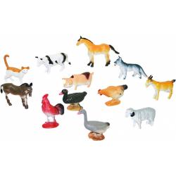 Obrázek zvířata domácí, 12 ks v sáčku