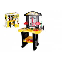 Obrázek Stůl/Ponk s nářadím plast v krabici 48x57x15cm