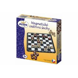 Obrázek Magnetické cestovní šachy dřevo společenská hra