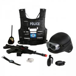 Obrázek vesta policie s příslušenstvím