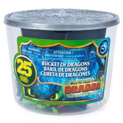 Obrázek DRACI 3 vedierku PLNÝ draka