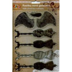 Obrázek Gélová pečiatky - Anjelské krídla