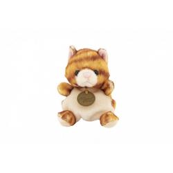 Obrázek Kočka/kočička sedící plyš 10x11x10cm 0+